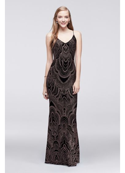 54bf64e0f2 Long Sheath Spaghetti Strap Formal Dresses Dress - Jump | Fancy ...