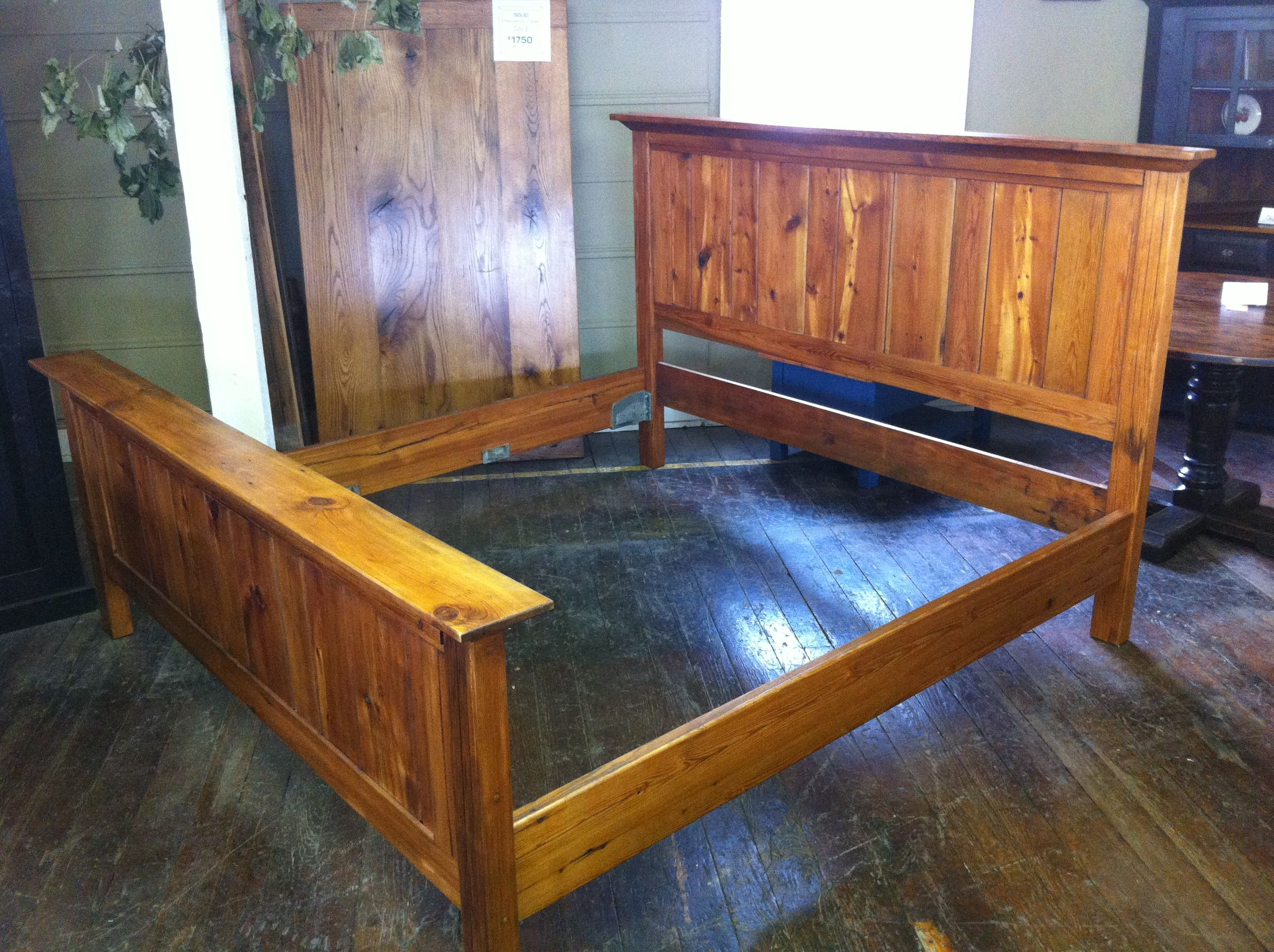 Barn Wood Bed. Reclaimed Barn Wood Furniture, Handmade In Lancaster County,  PA.