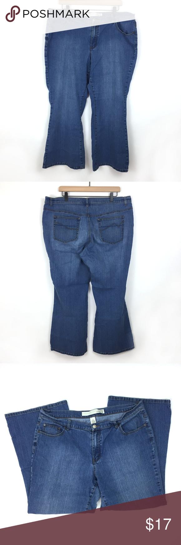 44a12a1c27528 Venezia Flare Jeans Size 20 Petite Size 20 Petite Approximate Flat  Measurements Across Waist  19
