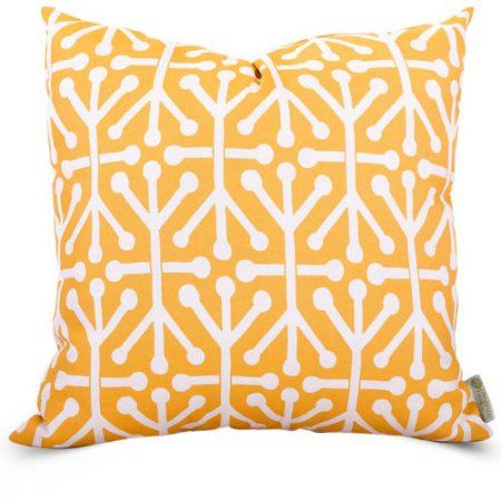 Majestic Home Goods Indoor Outdoor Citrus Aruba Extra Large Decorative Throw Pillow 24 In L X 10 In W X 24 In H Walmart Com Extra Large Throw Pillows Throw Pillows Outdoor Throw Pillows Extra large throw pillows