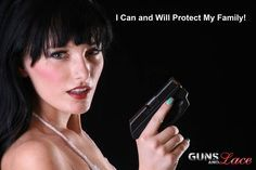 woman who is proficient with a firearm is an asset to her family ...