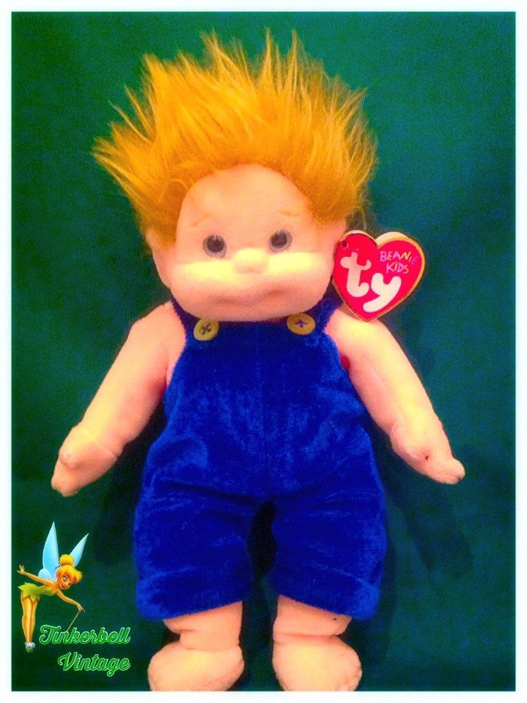 454a72c4ead Ty Beanie Kids Chipper. With Outfit. Original Ty Beanie Kids. Chipper Ty  Beanie