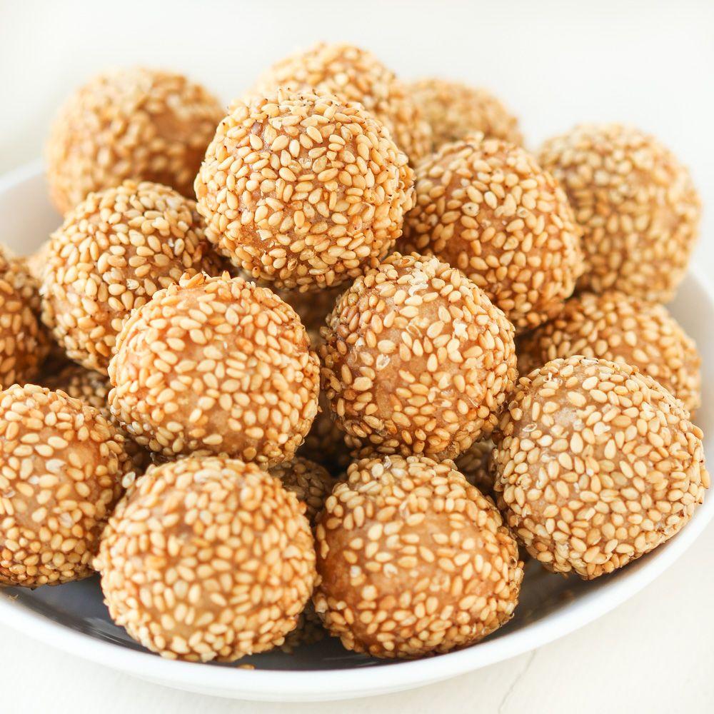Thirsty For Tea Dim Sum Recipe 15 Mini Sesame Balls