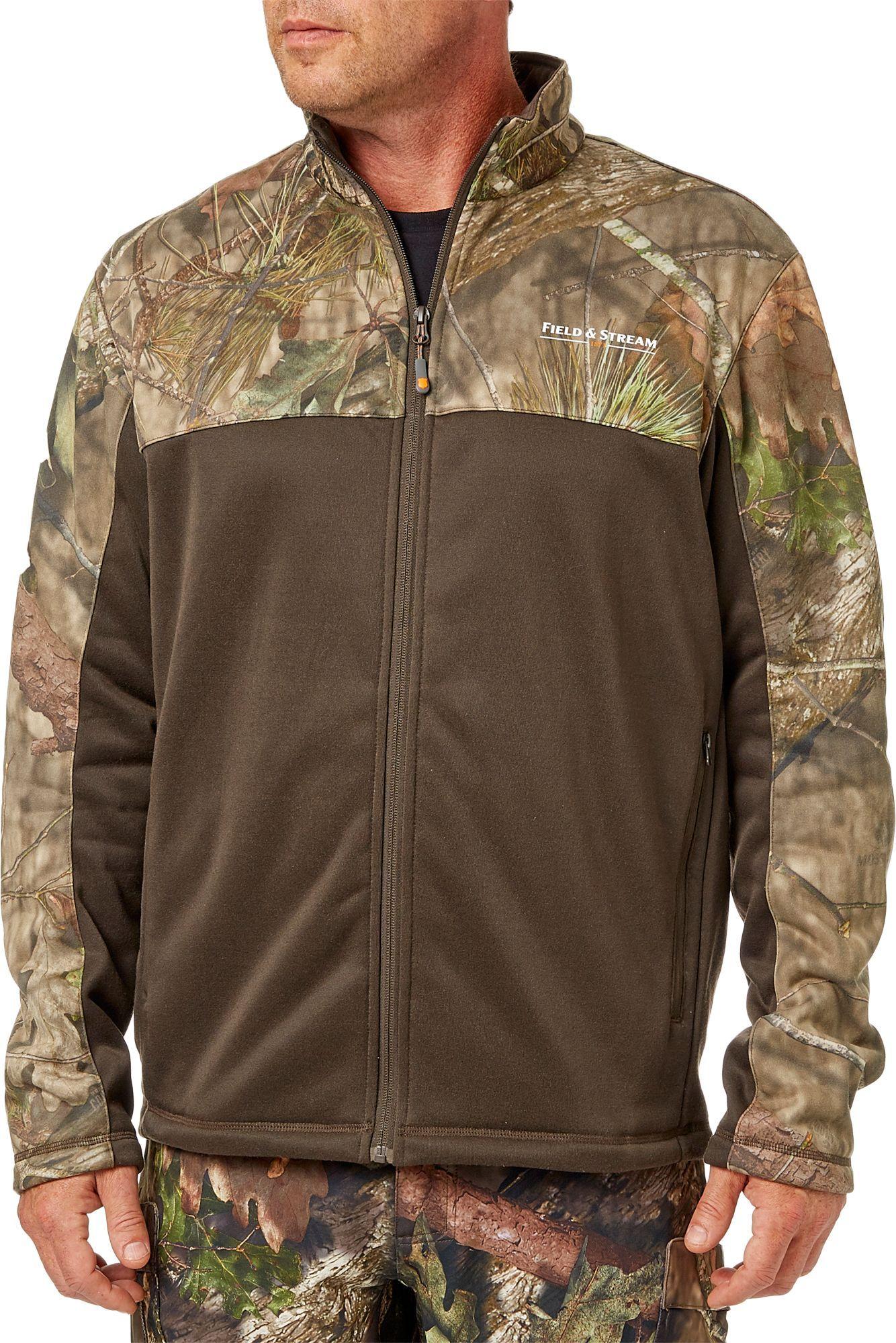 Field u stream menus fleece hunting jacket in products