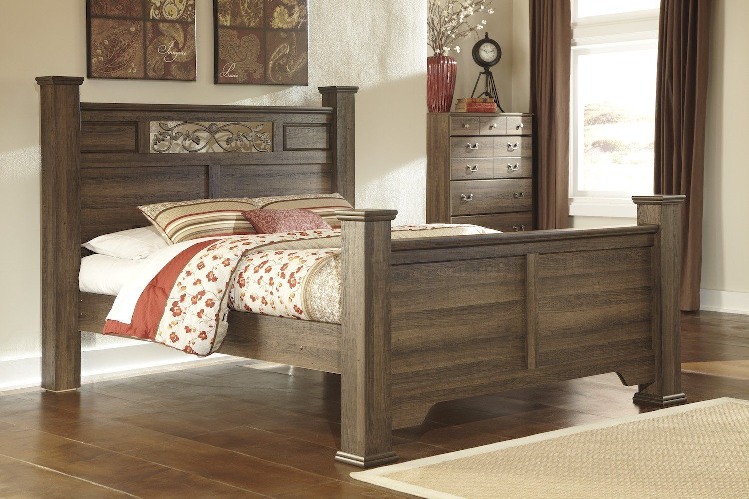 You can find it a variety of locations, but knowing exactly what you should look for is ke. Ashley Allymore Queen Poster Bed InBrown * You can get ...