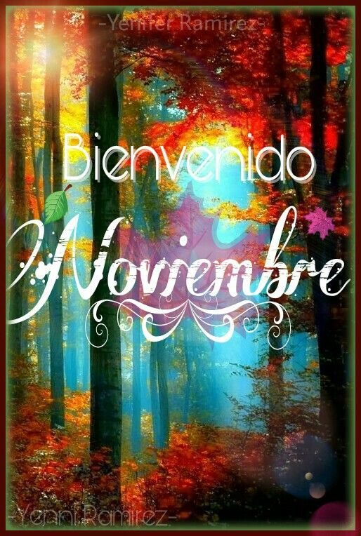Image result for welcome november spanish