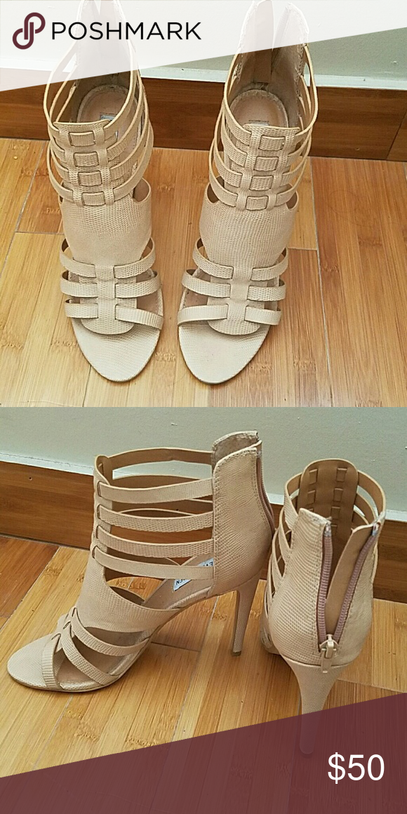 Heels Brand new never worn Steve Madden nude sandals Steve Madden Shoes Sandals