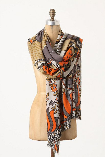 Eavesdropping Cashmere Wrap.