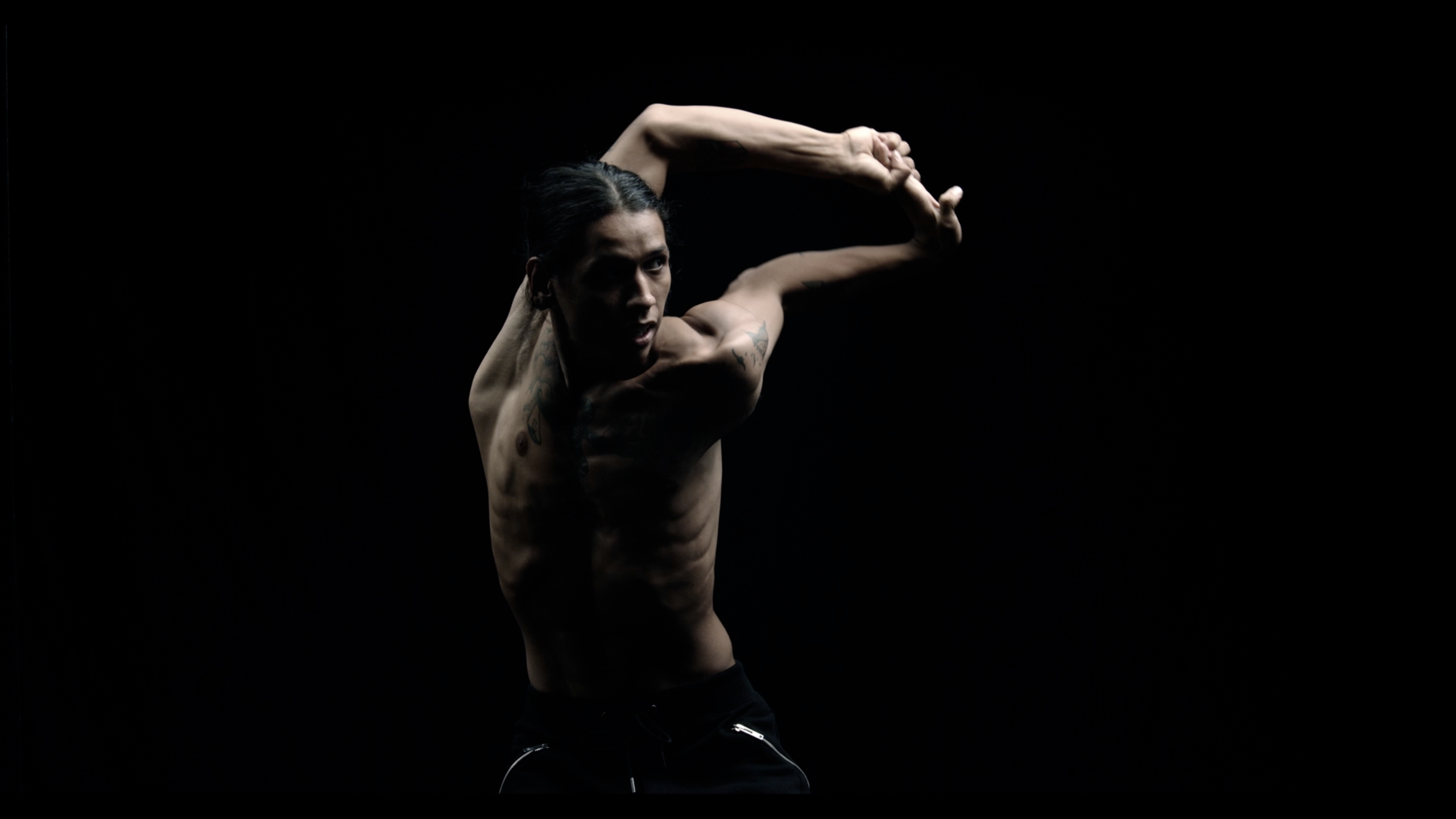 A cast of loose-limbed flex dancers get down to the sounds of political artist and afrobeat pioneer Fela Kuti on NOWNESS