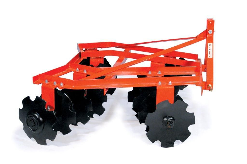Tractor Rear Disc : Sub compact point disc by tarter orange dsc