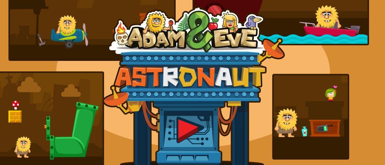 Adem Ve Havva Astronot Uzay Gemileri Oyun Labirentler
