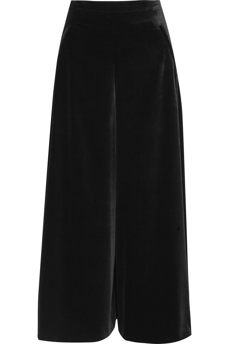 wide leg trousers - Black Temperley London PVvSy