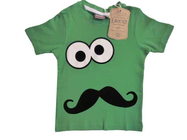 50bbea9b687b4 T-shirt Garçon e-Bound Vert Personnaliser Vetement