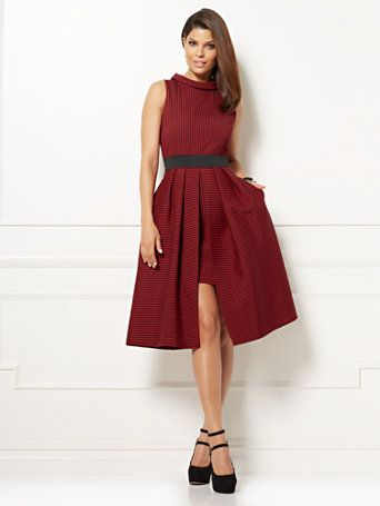 78611370d8f Shop Eva Mendes Collection - Freya Dress - Red. Find your perfect size  online at the best price at New York   Company.