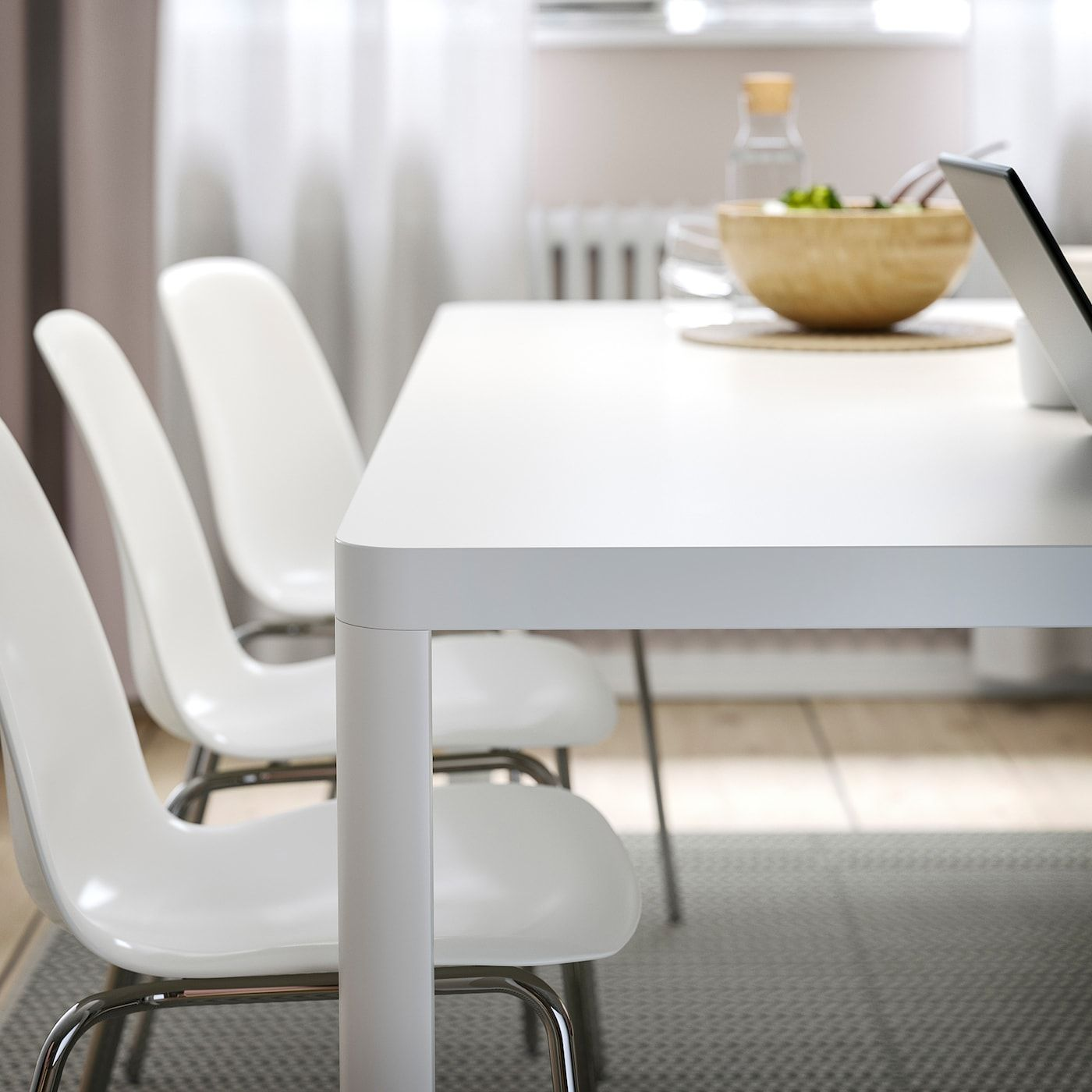Tingby Leifarne Table And 6 Chairs White White Ca Ikea In 2020 Ikea Dining Modern Kitchen Tables Ikea Dining Table