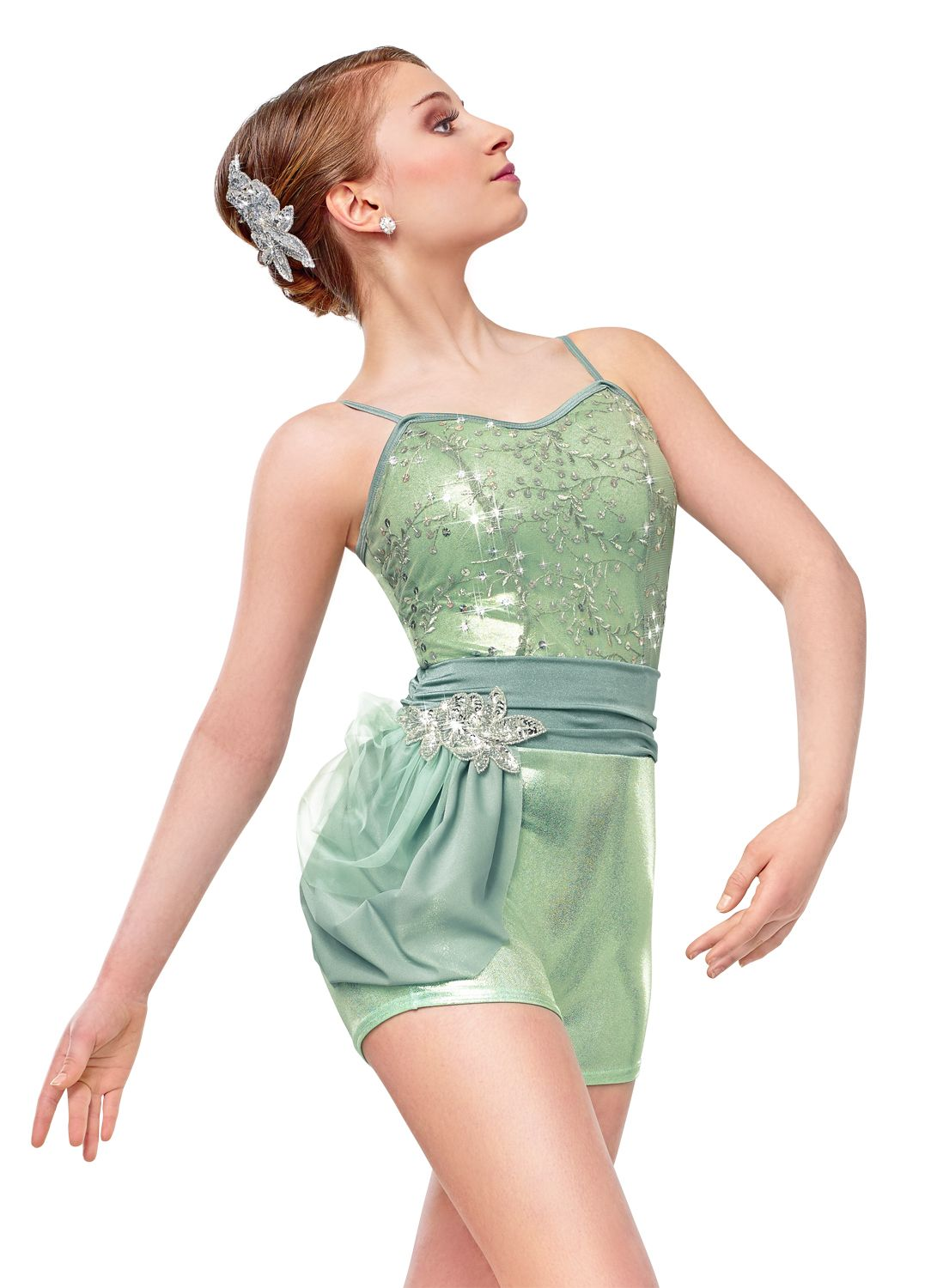 Metallic looks are hot this year, like this costume by Curtain Call. #FashionFriday
