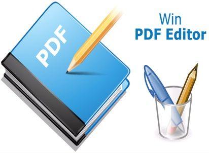 برنامج Win Pdf Editor للتعديل والكتابة على ملفات Pdf Editor Insert Image Pdf