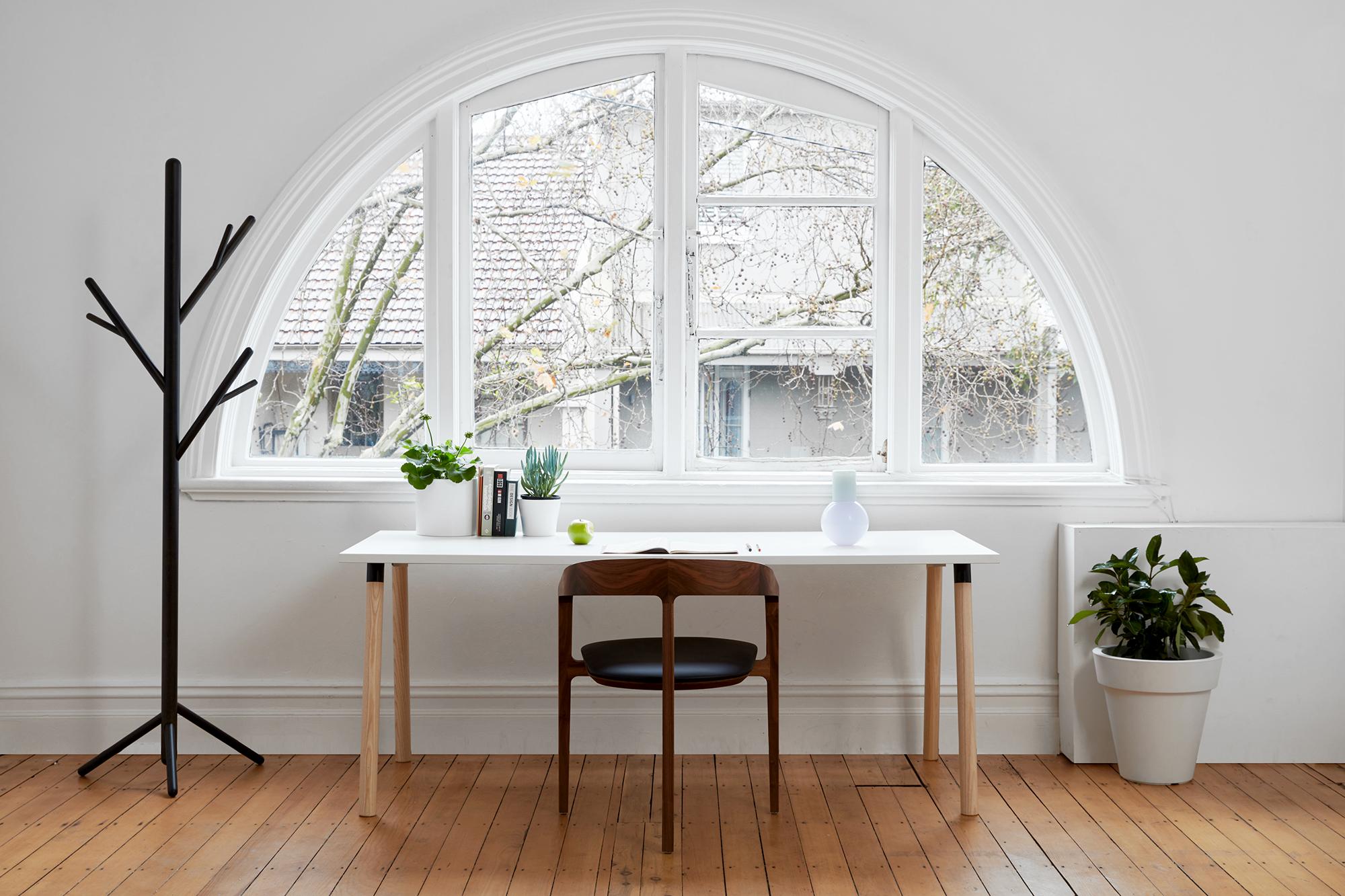 Partridge Desk Bedside Table Design Timber Furniture Chair