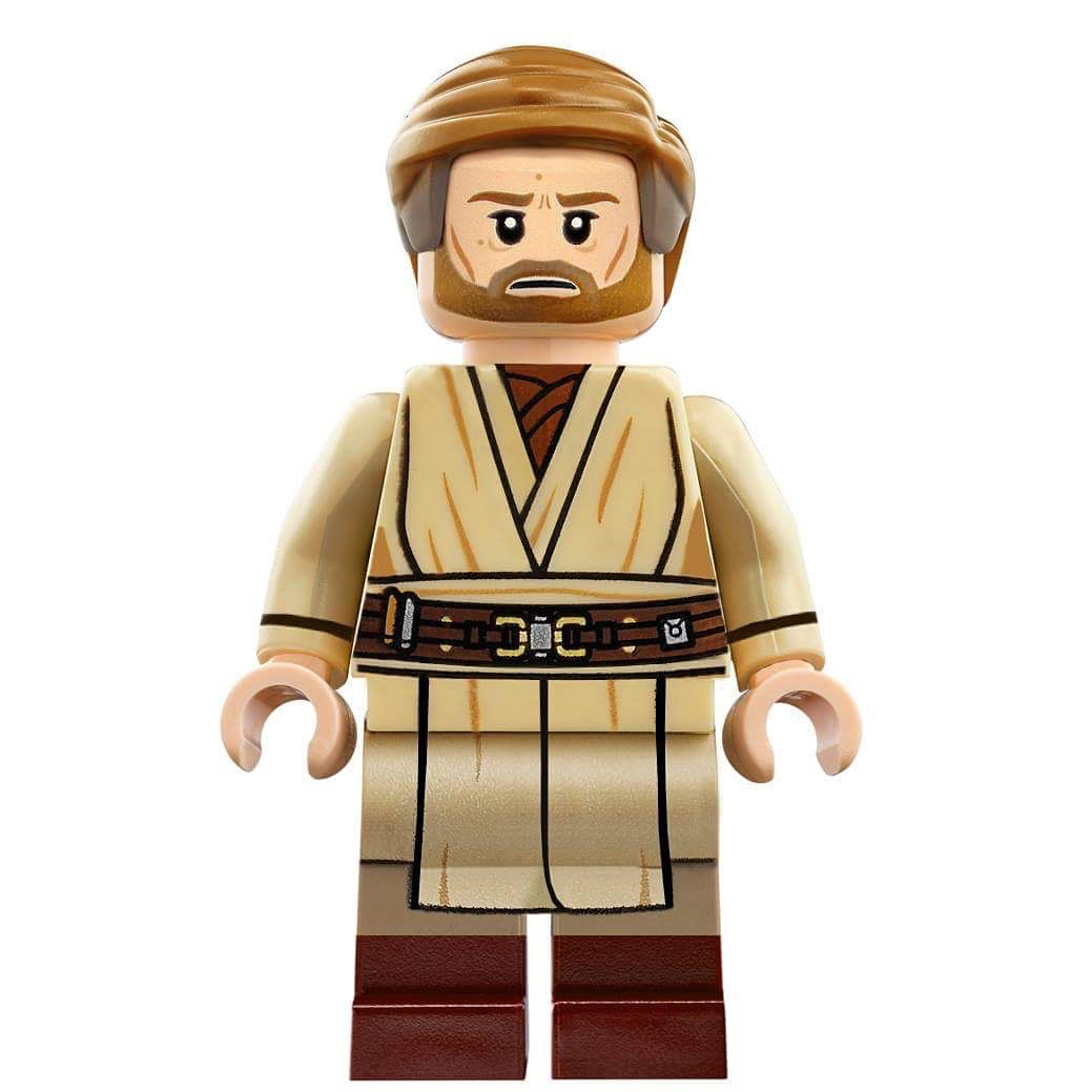 Lego obi wan kenobi from star wars episode 3 edited by me legocustoms00