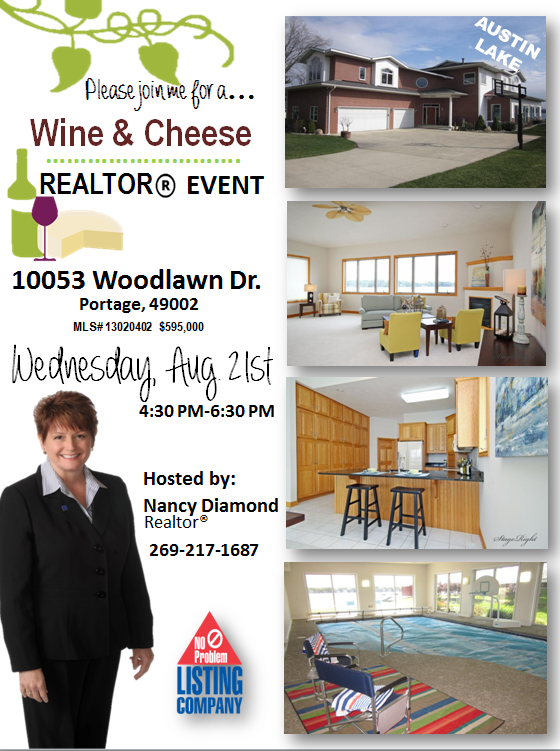 broker open house flyer