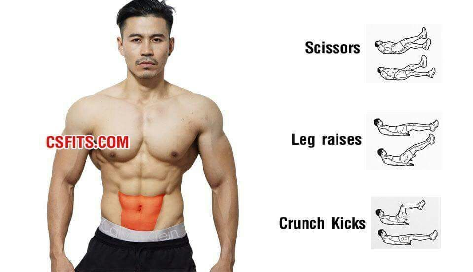 Lower abs exercises - Tap the pin if you love super heroes too ...