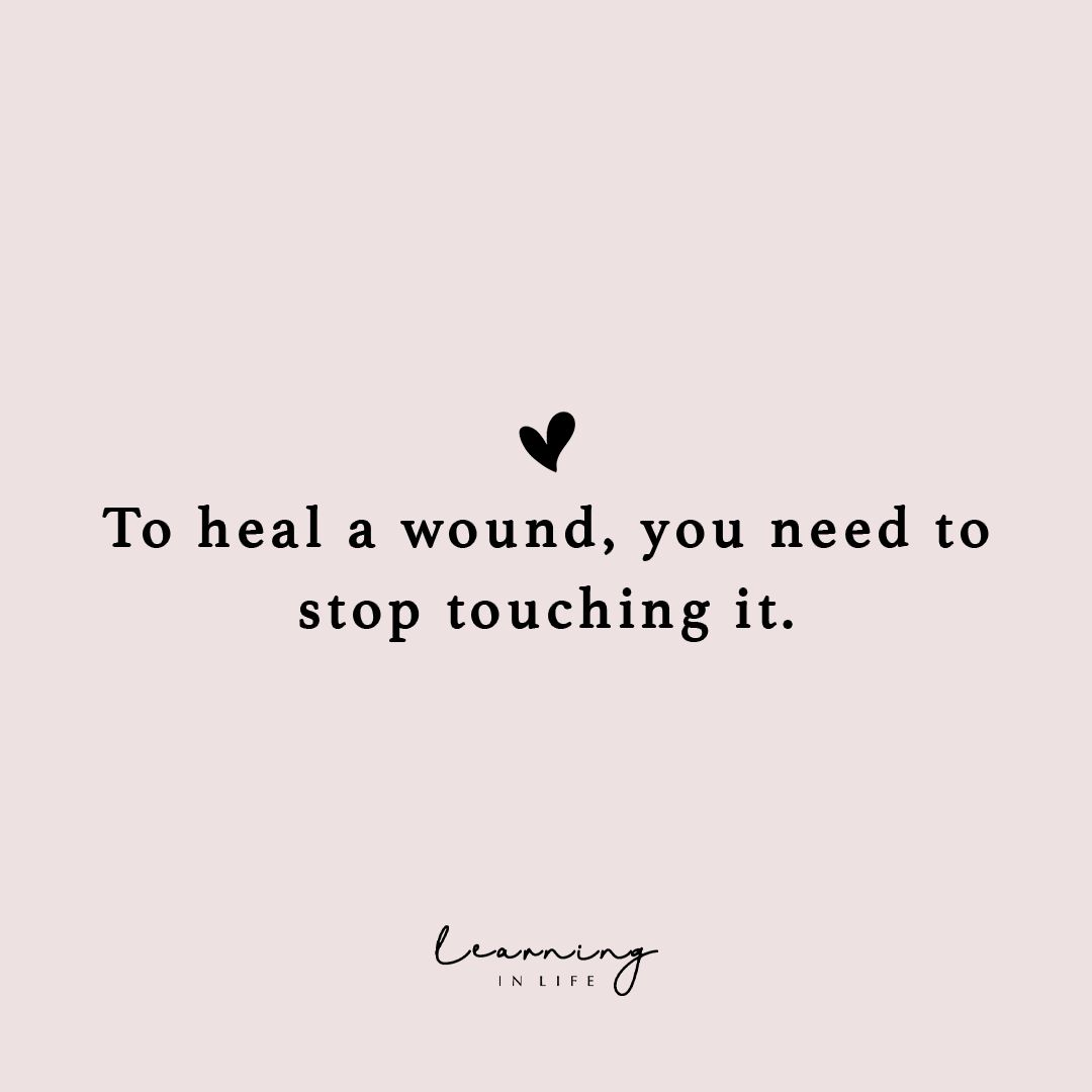 Quote About Healing Wounds