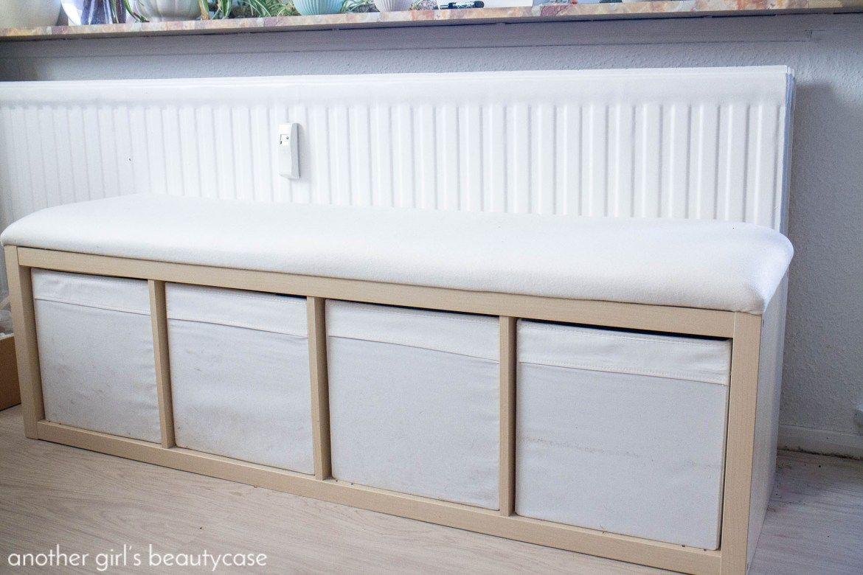 Ikea Hack Sitzbank Aus Kallax Regal Another Girl S Beautycase