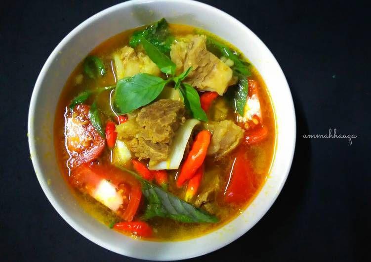 Resep Pindang Tulang Palembang Oleh Ummahhaaqa95 Afni Nur Rochmah Resep Resep Masakan Makanan Dan Minuman Masakan