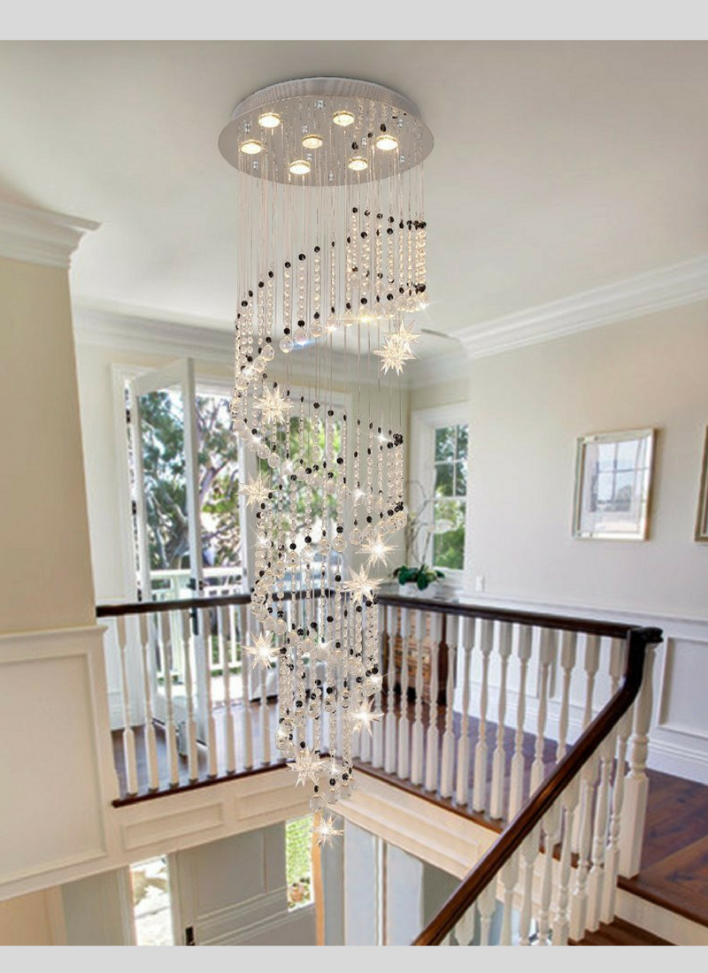 Gorgeous huge and at an amazing price modern k9 crystal swirl gorgeous huge and at an amazing price modern k9 crystal swirl design raindrop chandelier arubaitofo Gallery