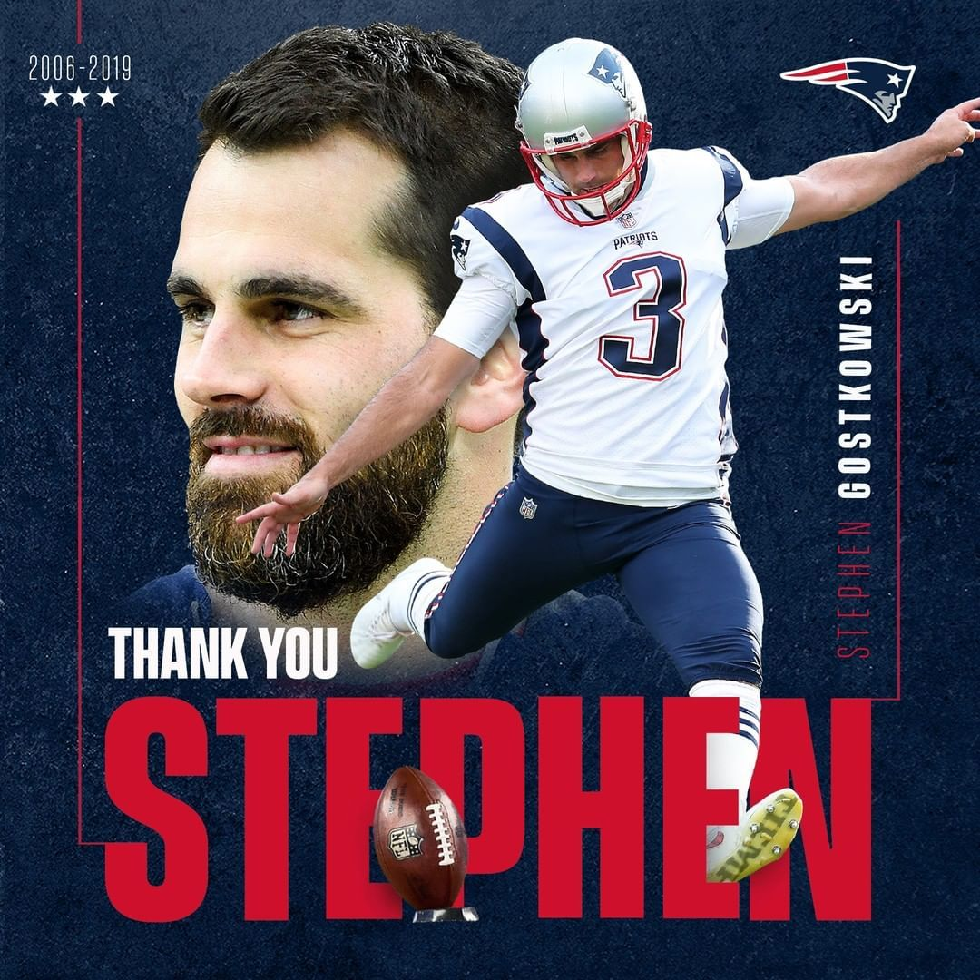 Our All Time Leading Scorer And An All Time Great Patriot Ty Sg3 In 2020 Nfl New England Patriots New England Patriots Merchandise New England Patriots