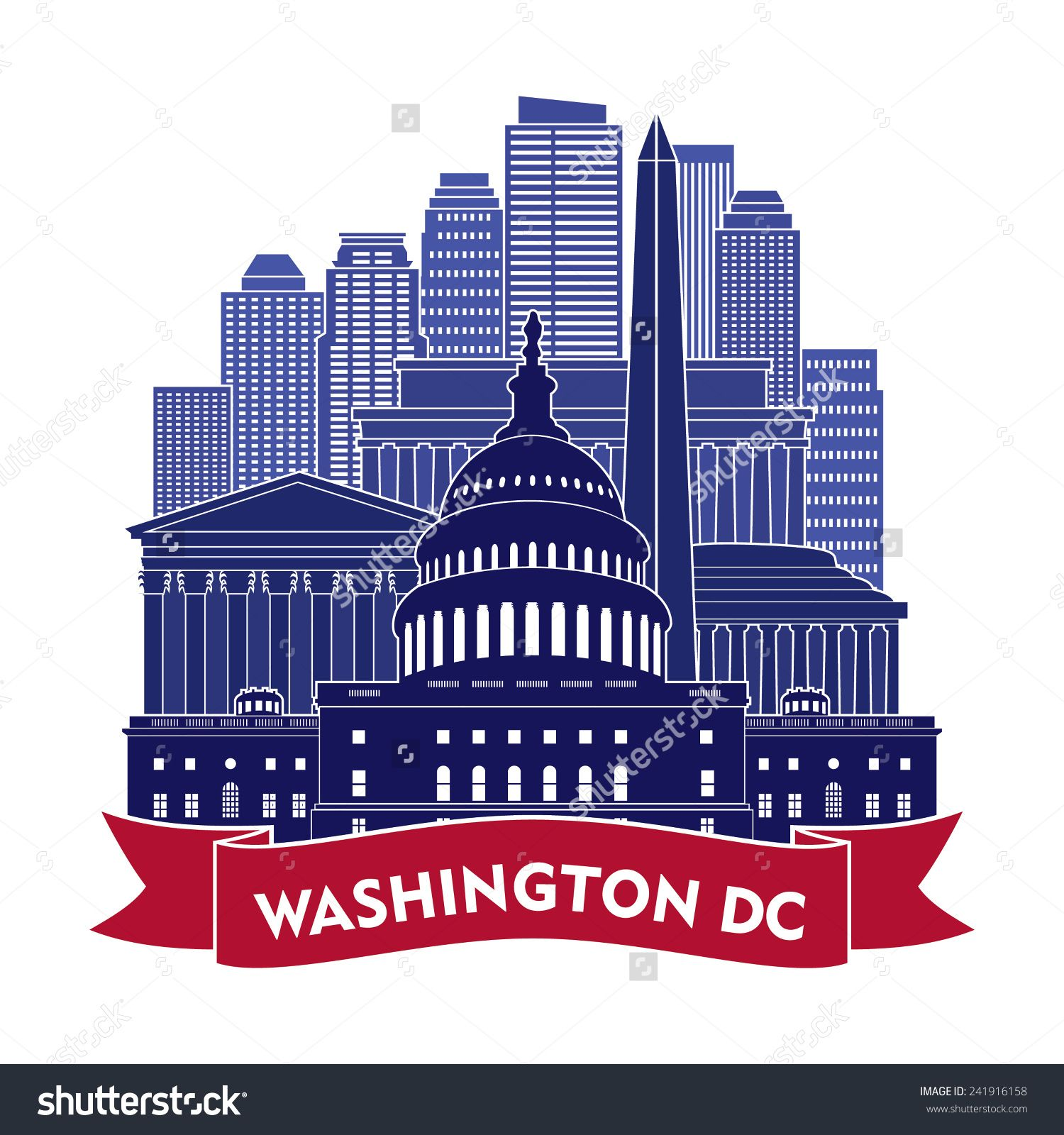 Art Places In Washington Dc: Washington Dc Clipart Free - Google Search