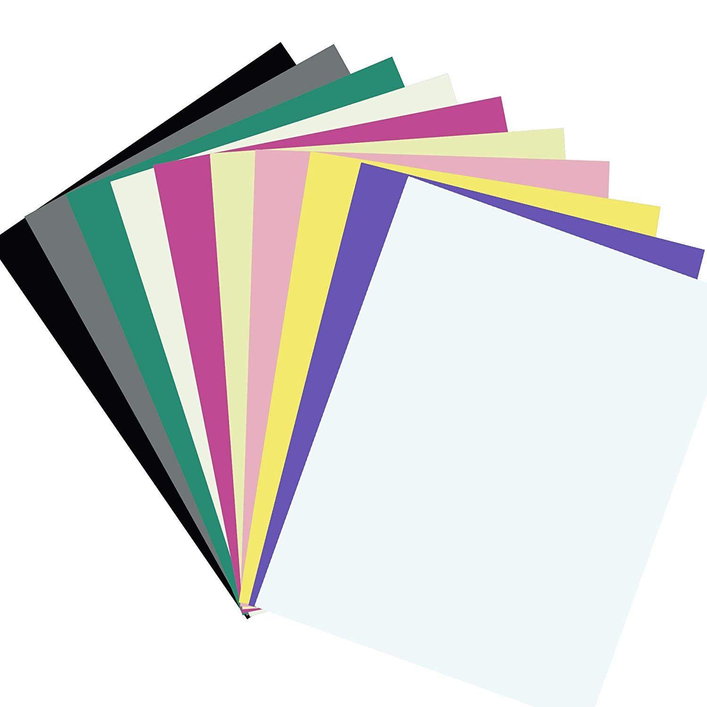 Diy Paper Cardstock 100 Sheets 10 Vivid Color Cardstock A4 Size