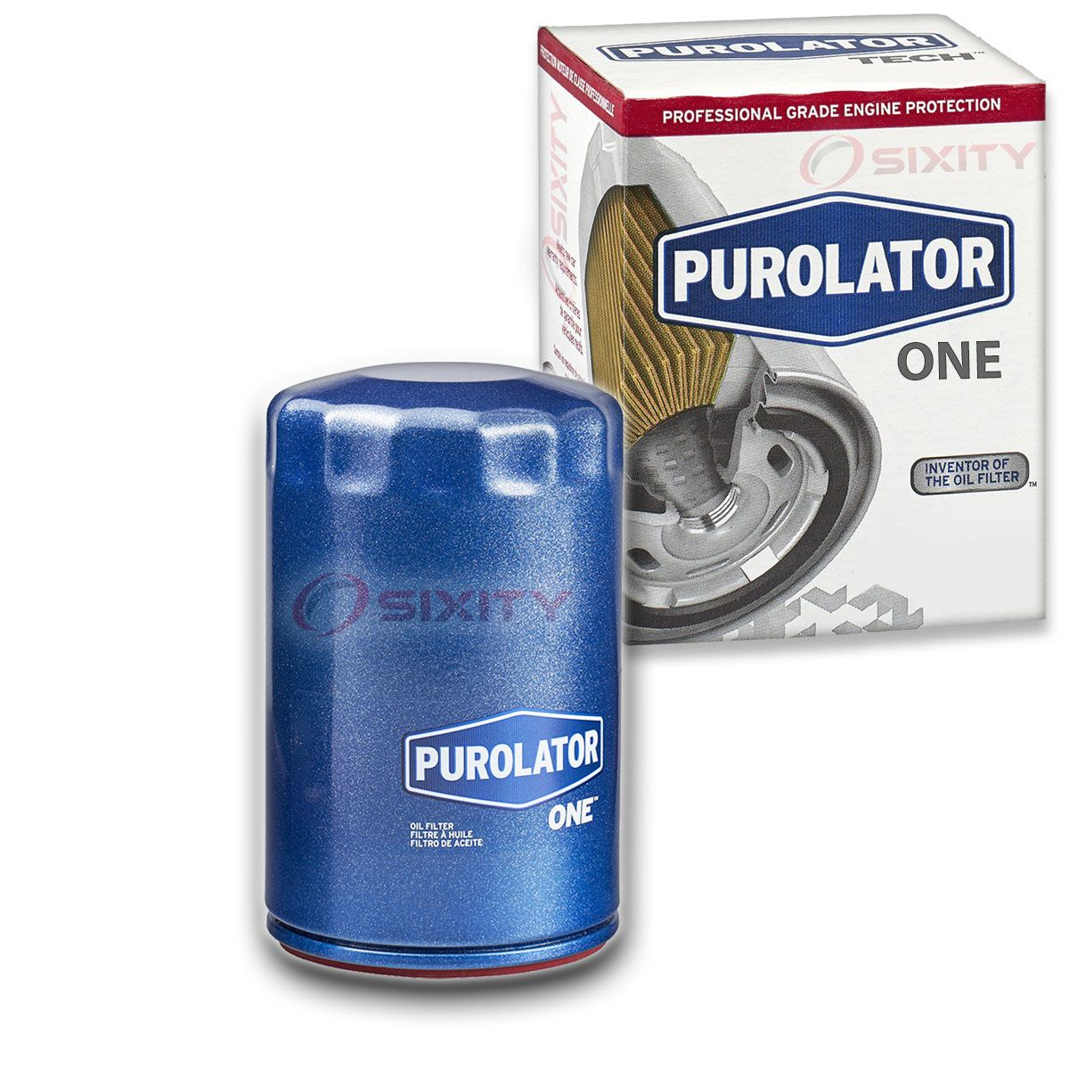 Purolator PL20195 PurolatorONE Oil Filter Pack of 2
