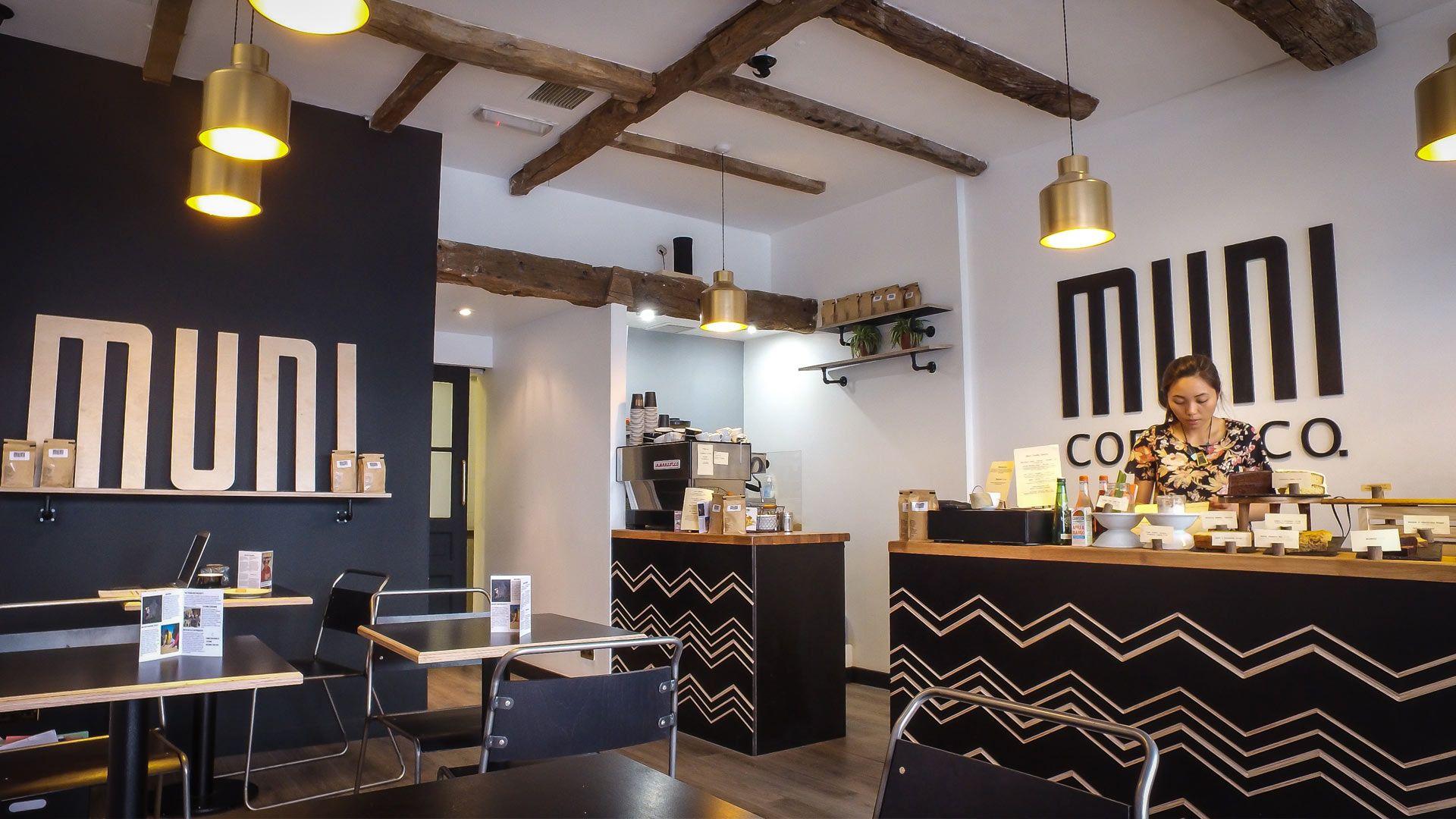 Muni coffee shop liqui design muni is a coffee company for European design firms