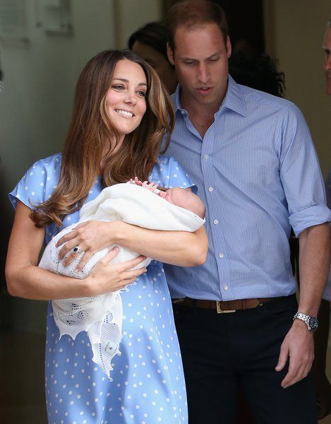 Catherine, William y George