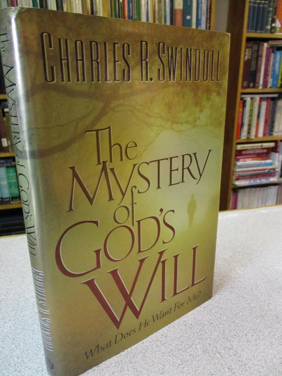 Christian Book Charles Swindoll Mystery Of God S Will Christian
