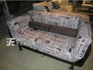 Newspaper Sofa Bed Printed Sofa Sofa Sofa Bed