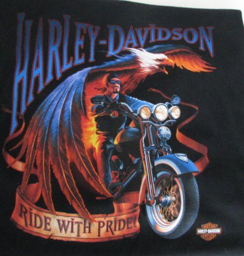Harley Davidson TShirt Mens 4XL Bergdale Albert Lea MN 2002 Black Motorcycle