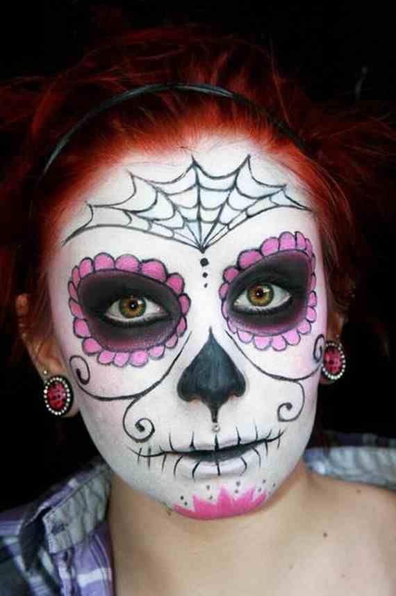 halloween best calaveras makeup sugar skull ideas for women 20