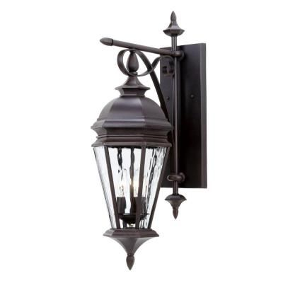 Hampton bay georgetown 3 light outdoor bronze wall lantern cil1693m hampton bay georgetown 3 light outdoor bronze wall lantern cil1693m the home depot aloadofball Choice Image
