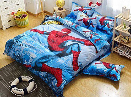home textile cartoon pattern bedding students duvet cover set kids bed sheets boys girls