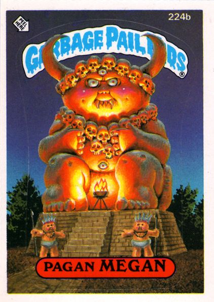 Pin By The Anachronistic Doctors On Cards Stickers Garbage Pail Kids Garbage Pail Kids Cards Pail