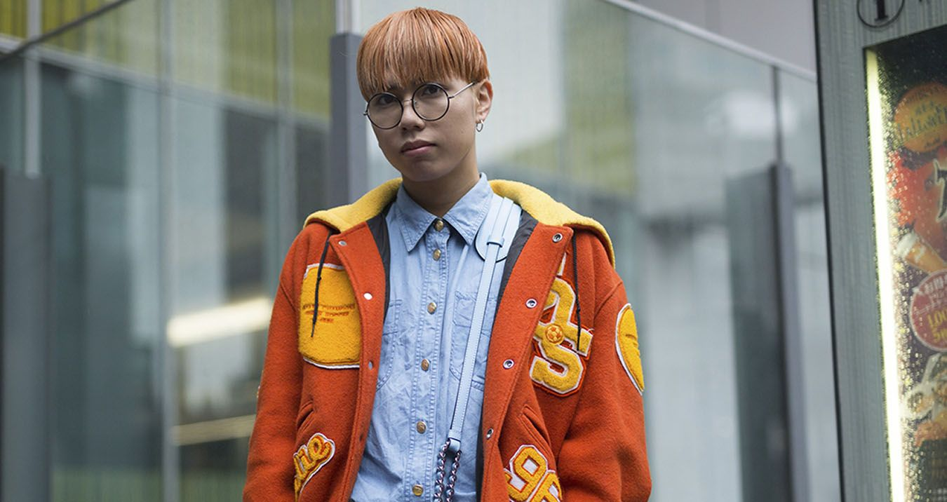 Tokyo Fashion Week Street Style Spring 2018 Day 6, The Best Street Style from Tokyo Spring 2018 fashion shows at TheImpression.com