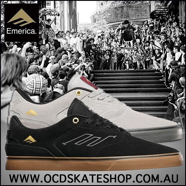 Stocked up on #Emerica #AndrewReynolds Low Vulc by popular demand! 👌For only $89.00 its a no brainer 😜www.ocdskateshop.com.au