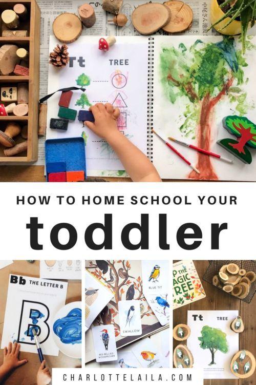 Photo of Teaching Preschool At Home  — Habitat Schoolhouse