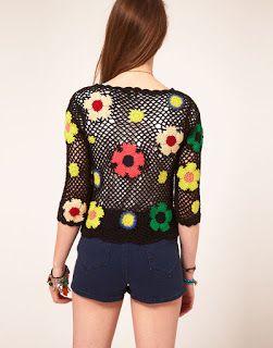 innovart in crochet: woman