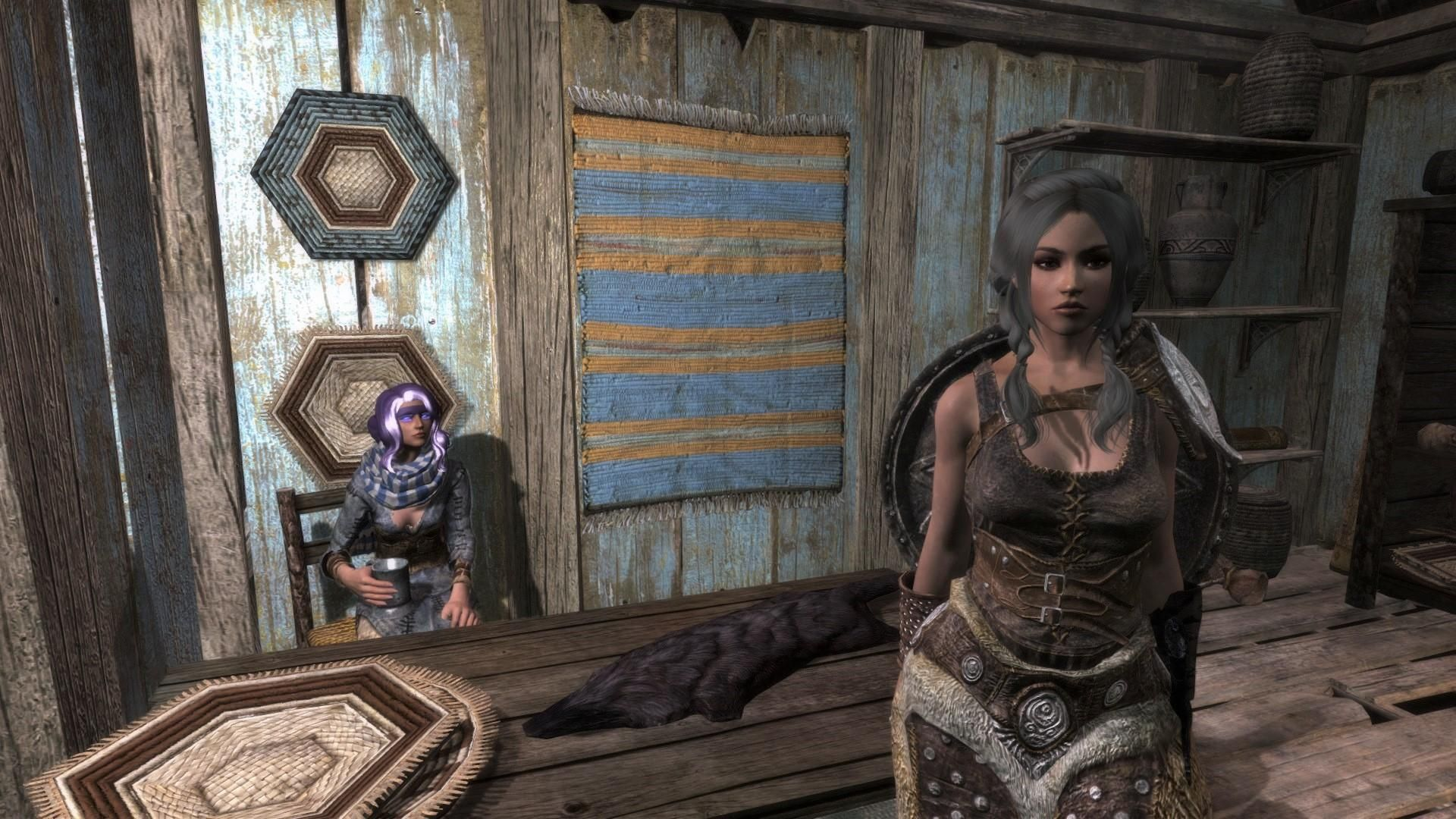 I dont think Ysolda is too happy about me taking her face    #games