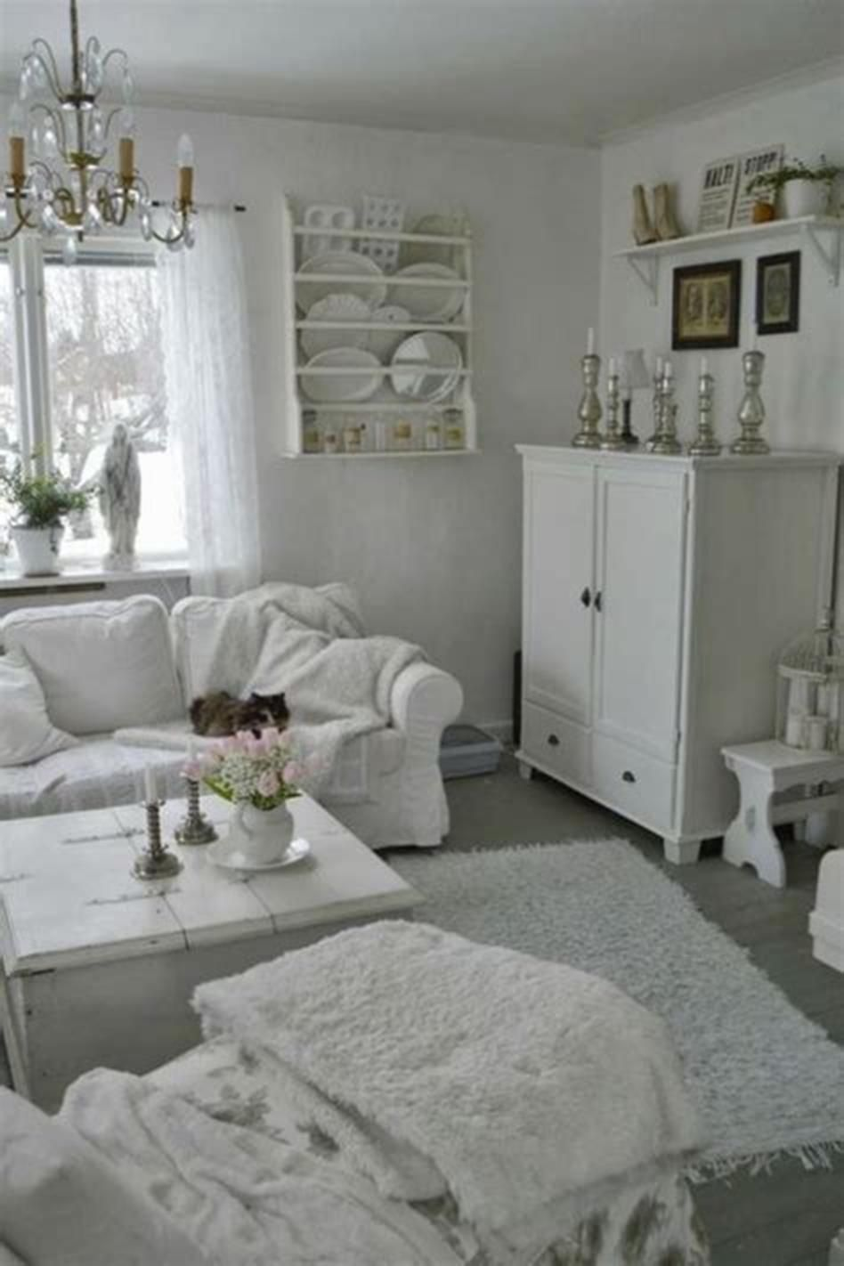 10+ Most Popular Shabby Chic Living Room Decor