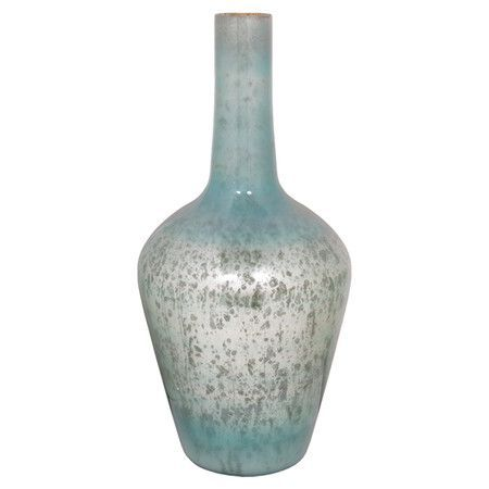 Turquoise Mercury Glass | Turquoise mercury glass vase | Product: VaseConstruction Material ...