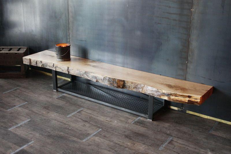meuble tv bois metal meuble tv bois massif